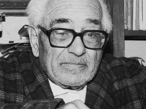 1959, Stromboli che tenta di risorgere visitata dal poeta Papalia