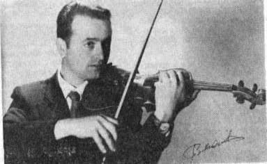 Antonio Triolo, il violinista argentino di Malfa