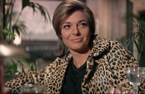 """God bless you, please, Mrs. Robinson"". Anne Bancroft died yesterday."